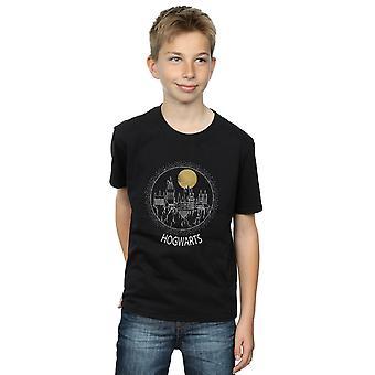 Harry Potter Hogwarts jungen Kreis T-Shirt