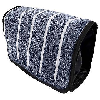 Egna av London Threadneedle Wash Bag - ljusblå/vit