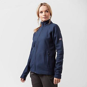 New Berghaus Women's Hartsop Insulated Full-Zip Fleece Navy