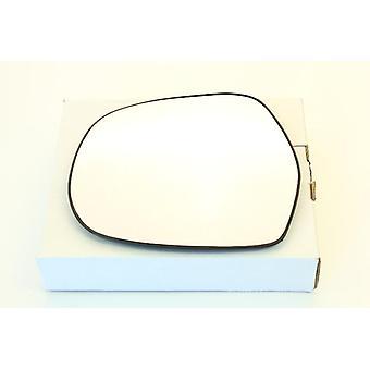 Left Mirror Glass (Heated) & Holder for Toyota LAND CRUISER 2002-2010
