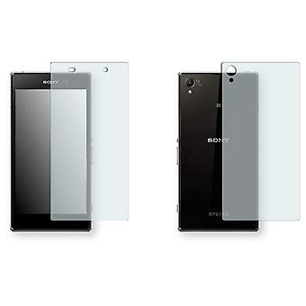 Sony Xperia C6902 screen protector - Golebo crystal-clear protector (1 front / 1 rear)