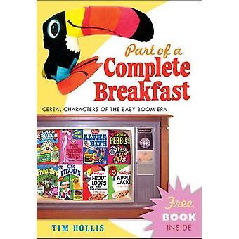 Partie d'un petit déjeuner complet - caractères de céréales de l'ère des Baby-Boomers