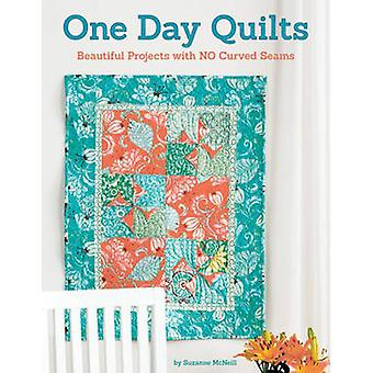 One Day Quilts - Beautiful Projects with No Curved Seams by Suzanne Mc
