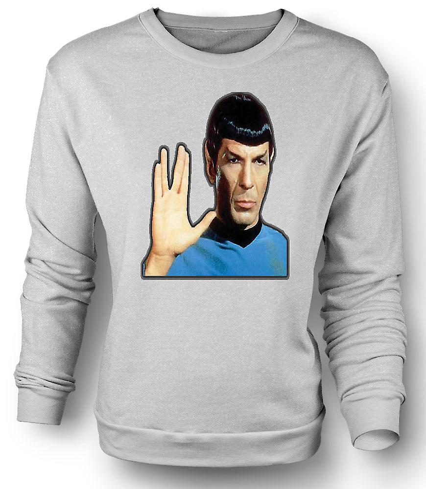 Mens Sweatshirt Mr Spock - Star Trek