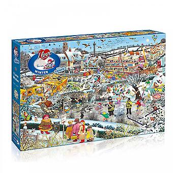 Gibsons I Love Winter - 1000 Piece Puzzle