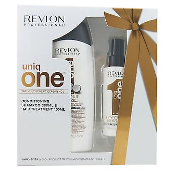 Revlon uniq one coconut shampoo 300 ml + treatment 150 ml set