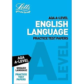 Letts A-Level Revision Success - AQA A-Level English Language Practice Test Papers (Letts A-Level Revision Success)