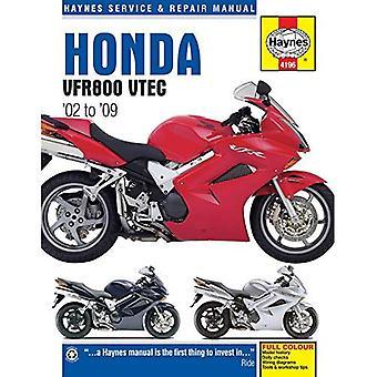 Honda VFR800 V-TEC V-Fours Motorcycle Repair Manual