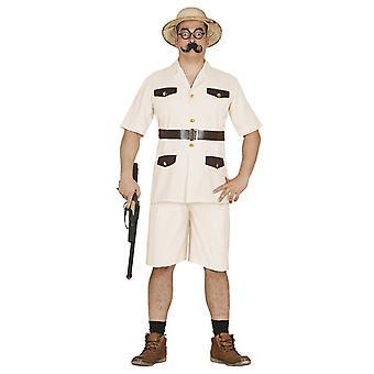 Mens Safari Explorer Fancy Dress Costume