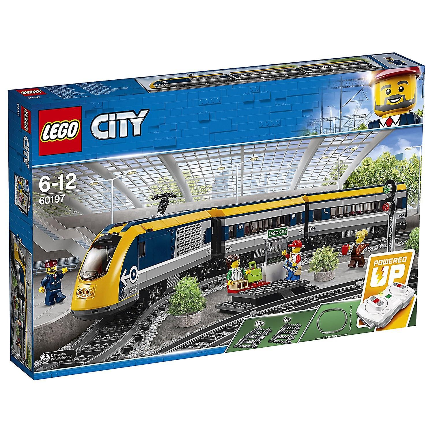 LEGO City 60197 passager Train Construction Playset