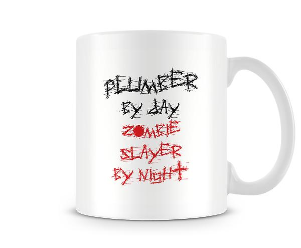 Builder By Day Zombie Slayer Night Mug