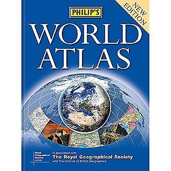 Philip's World Atlas: książka w twardej oprawie
