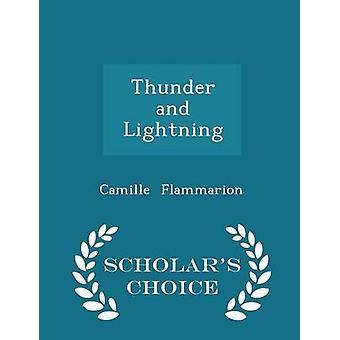 الطبعة اختيار الرعد والبرق العلماء بكاميل فلاماريون &