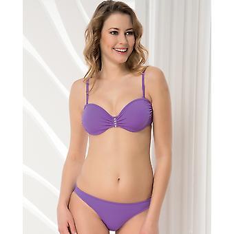 Aqua Perla - Womens - Fiji Purple- Bikini Top