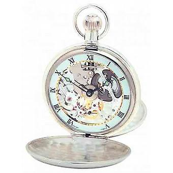 Woodford Silver Twin Lid Pocketwatch 1066 Watch