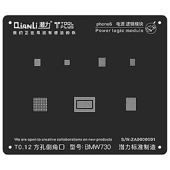 QianLi BGA Stencil Power Logic Module iPhone 6   iParts4u