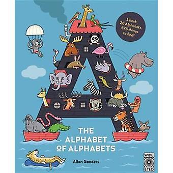 The Alphabet of Alphabets by Aj Wood - 9781786030023 Book