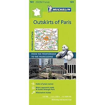 Outskirts of Paris Zoom Map 101 - Banlieue de Paris - 9782067217706 Bo