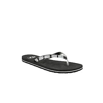 UGG Simi Graphic 1099831BLK universal summer women shoes