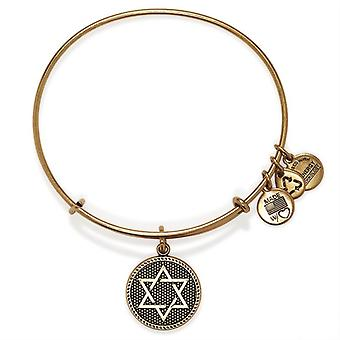 Alex en Ani ster van David Gold Bangle A14EB73RG