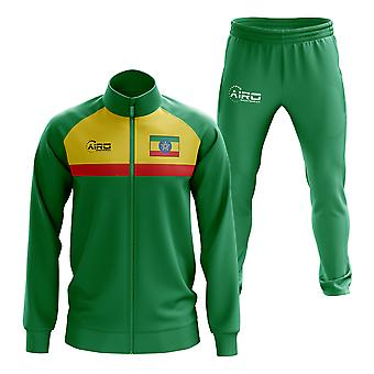 Ethiopia Concept Football Tracksuit (Green)