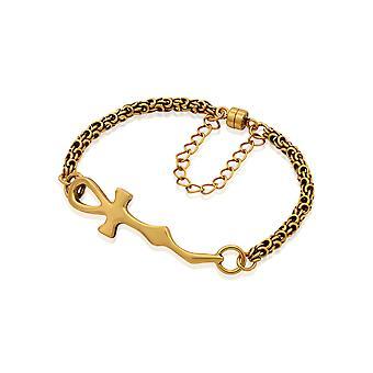 Alex et Ani Ankh bracelet magnétique-Rafaelian or