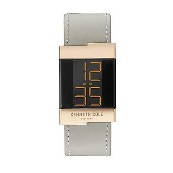Kenneth Cole New York ladies watch leather wristwatch digital KCC0168005