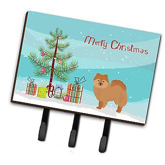 Carolines Treasures  CK3456TH68 German Spitz Christmas Tree Leash or Key Holder