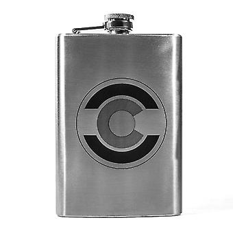 8oz state national guard - colorado flask l1