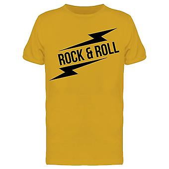 Rock And Roll Sign Tee Men's -Image by Shutterstock