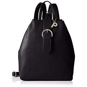 Picard Luis Black Women's Backpack (Schwarz) 9x30x25 centimeters (B x H x T)