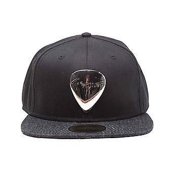 Fender Baseball Cap Plectrum Metal Badge Logo nouveau Snapback noir officiel