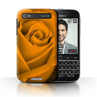 STUFF4 Pokrywę dla Blackberry Classic/Q20/Orange/Rose