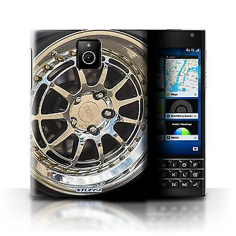 STUFF4 Case/Cover for Blackberry Passport/Chrome/Silver/Alloy Wheels