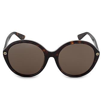 Gucci Round Sunglasses GG0023SA 002 57