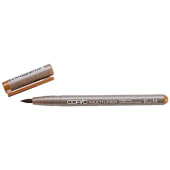 Copic Multiliner Sepia Brush Small Ml Brush Bs