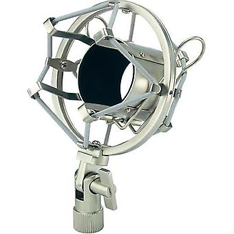 Microphone shock mount Mc Crypt SHM-9A Dimensions, Ø: 43 mm Internal thread: 5/8