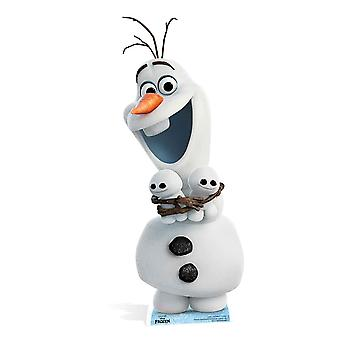 Olaf from Frozen Fever Disney Cardboard Cutout / Standee
