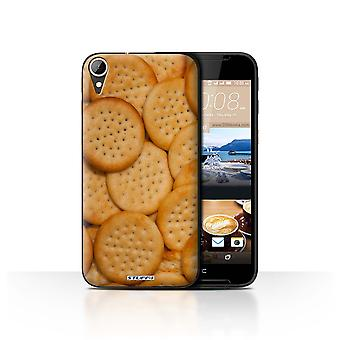 STUFF4 Case/Cover for HTC Desire 830/Mini Cheddars/Snacks
