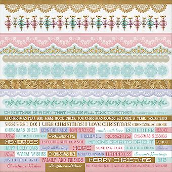 Christmas Wishes Cardstock Stickers 12