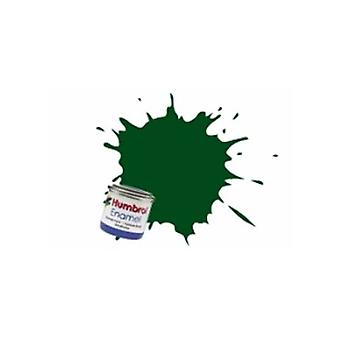 Humbrol Enamel Paint 14ML No 3 Brunswick Green - Gloss