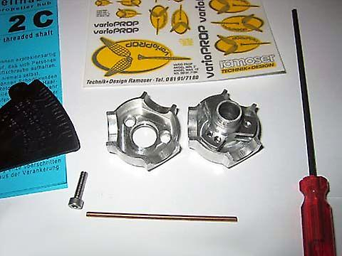 4-blade hub 8,0mm