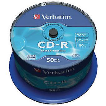 Verbatim Data Life 1X50 CD-R 80 52X Speed, Extraprotection