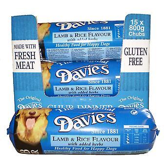 Davies lam & ris Chub 800gm (pakke med 15)