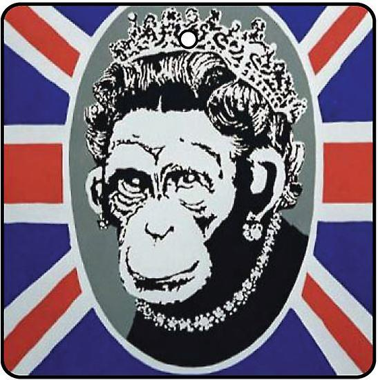 Banksy Monkey Queen Car Air Freshener