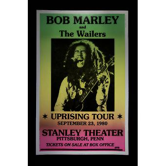 Bob Marley/ The Wailers retro concert posters