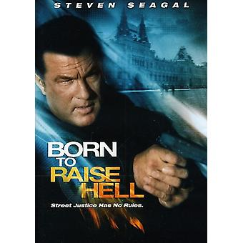 Steven Seagal - Born to Raise Hell [DVD] USA import