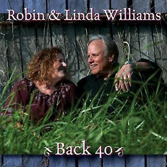 Robin Williams & Linda - Back 40 [CD] USA import