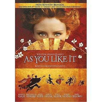Como You Like It [DVD] los E.e.u.u. la importación