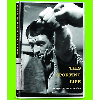 This Sporting Life (1963) [DVD] USA import